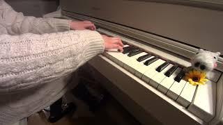 ナイティナイト / まふまふ - Nighty night 耳コピして弾いてみた ピアノ ひぽさんふらわー
