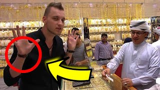 Stealing Gold in worlds biggest gold market - magician Dubai