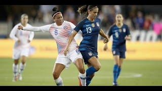 Estados Unidos 4 - 0 Chile  | Amistoso 2018 | Partido 2 | Fútbol Femenino