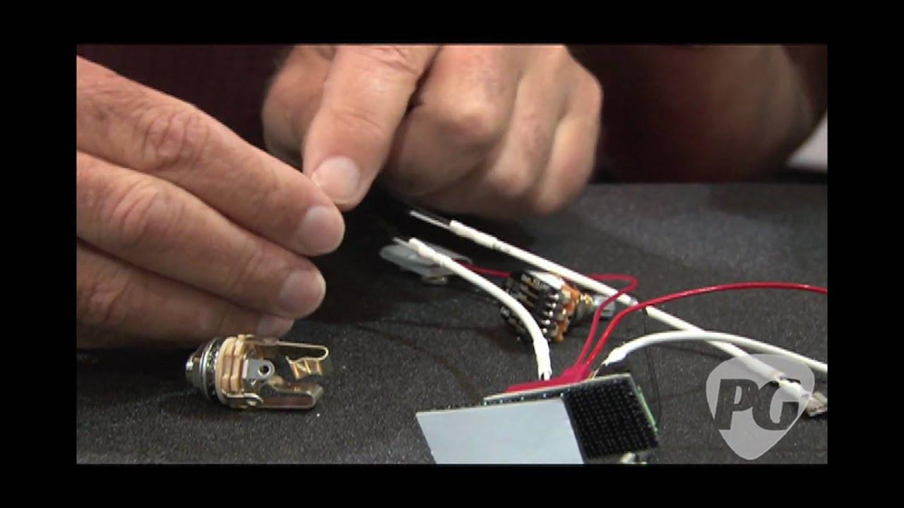 summer namm 10 emg pickups solderless pickups w rob turner youtube rh youtube com emg active pickup wiring diagram electric guitar wiring [ 1920 x 1080 Pixel ]