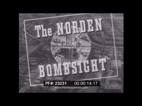 PREFLIGHT INSPECTION OF THE NORDEN BOMBSIGHTWWIITRAINING FILM 23231