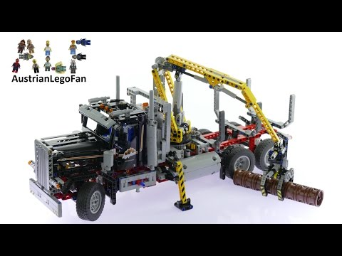 Lego Technic 9397 Logging Truck - Lego Speed Build Review