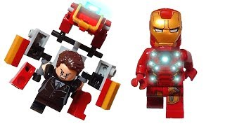 lego iron man suit/wear and take off/for stop motion/アイアンマン着脱アーマー作り方