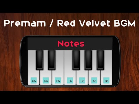 Red Velvet BGM | Premam | Rajesh Murugesan | Perfect Piano