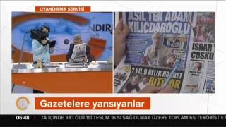 """Akşam: """"Asıl Tek Adam Kılıçdaroğlu"""" 02.05.2017"""