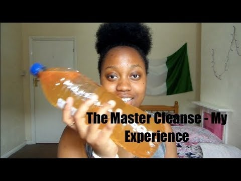 MY EXPERIENCE WITH THE MASTER CLEANSE || BUGALUCHIII
