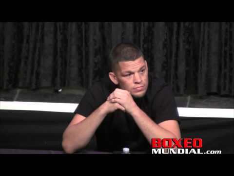 'If I'm not fighting Conor I'm going on vacation'- Nate Diaz at UFC 200 Announcement presser