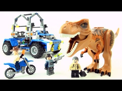 Lego Dinosaur Jurassic World Tyrannosaurus Rex - Review and test Lego Jurassic Park Dino