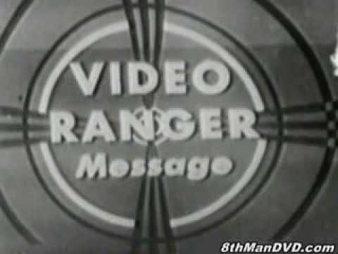 """DuMont TV's CAPTAIN VIDEO TV series """"Captain Video"""" (1949)"""