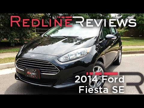 2014 Ford Fiesta SE Review, Walkaround, Exhaust, & Test Drive