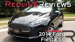 2014 Ford Fiesta SE Review, Walkaround, Exhaust, & Test Drive(Facebook: https://www.facebook.com/2Redline Instagram: http://instagram.com/sofyan_bey Subscribe today for all the latest reviews! After three years on the ..., 2013-07-25T03:59:18.000Z)