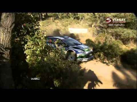 WRC 2012 Italy [Sardegna] Day 1 - Part 1/2