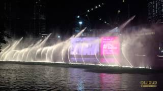 The Dubai Mall fountain show