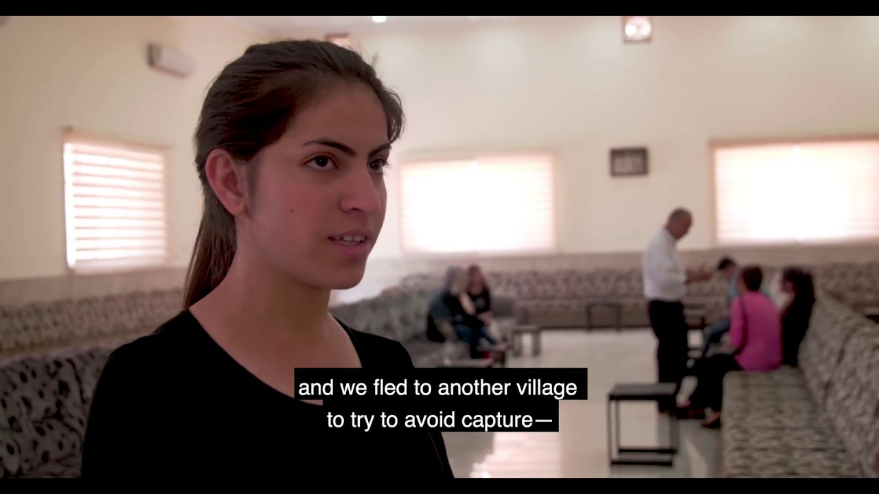 IAHV Trauma Relief Project for the Yazidis