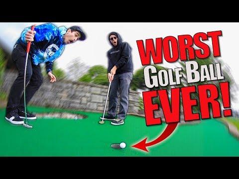 UNPUTTABALL?! | Fun Mini Golf With Friends #8 Part 1