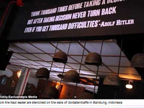 Nazi cafe in  Indonesia