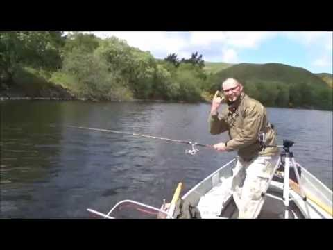 Pike And Trout Fishing.  Boat Fishing .