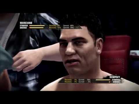 Round 2 Match 7: Rocky Marciano vs Jack Dempsey