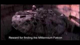 The Millinium Falcon - R.I.P. Han Solo