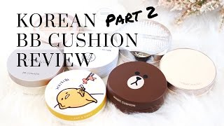 Korean BB Cushion Foundation Review ft. Etude House, Missha, VDL & More!, BB cushion, korean beauty