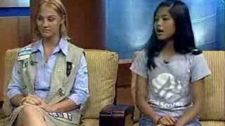 Girl Scouts Represent Guam in Japan