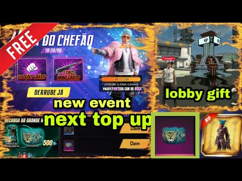 Free Fire Next Top Up Event Free Fire New Event Today F