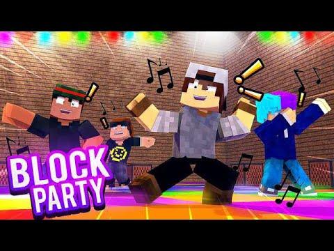 JOGANDO BLOCK PARTY COM MEUS AMIGOS! *dançamos muito*