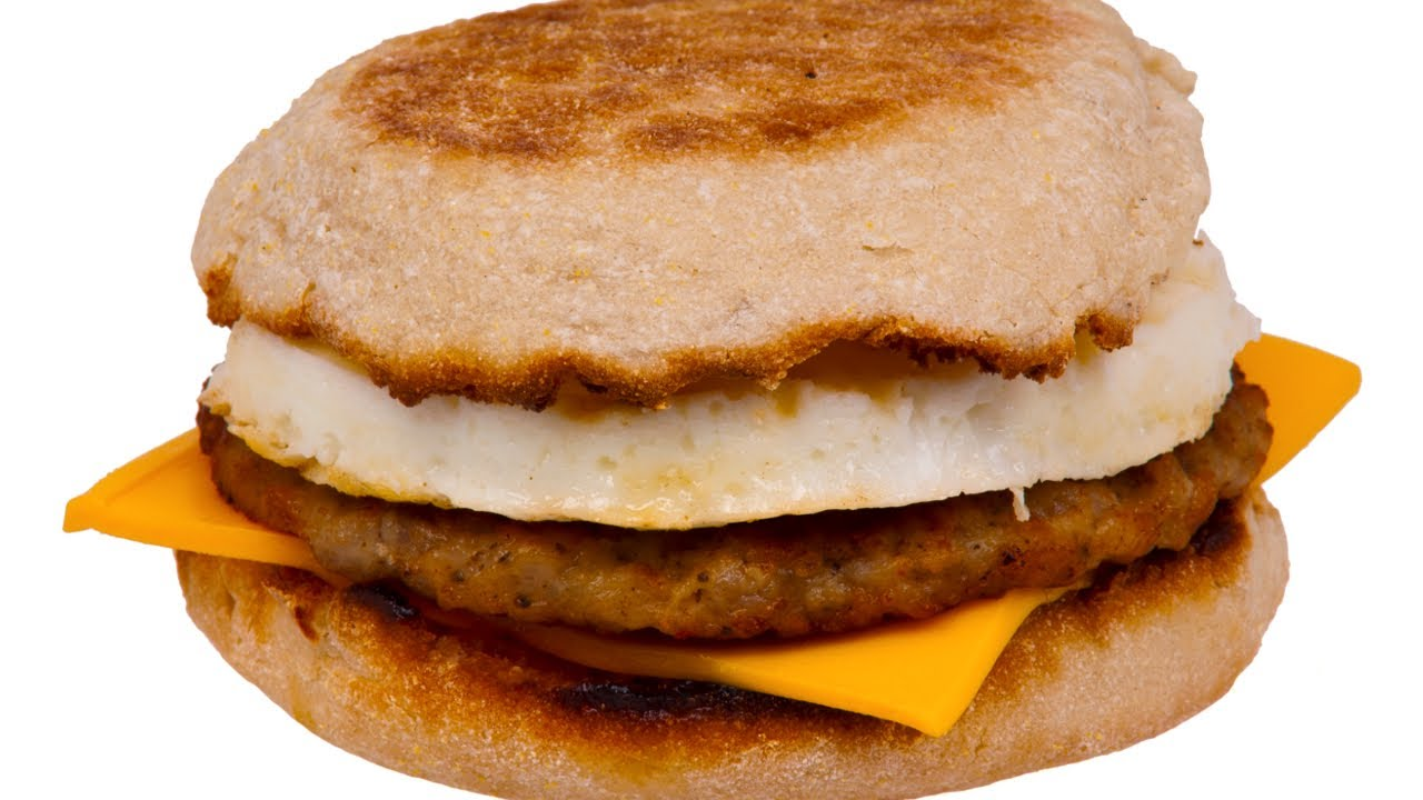 Homemade Sausage & Egg McMuffin Recipe - YouTube