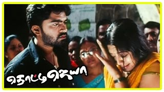 Thotti Jaya Movie Scenes | Simbu saves Gopika from goons | Gopika requests Simbu to accompany her