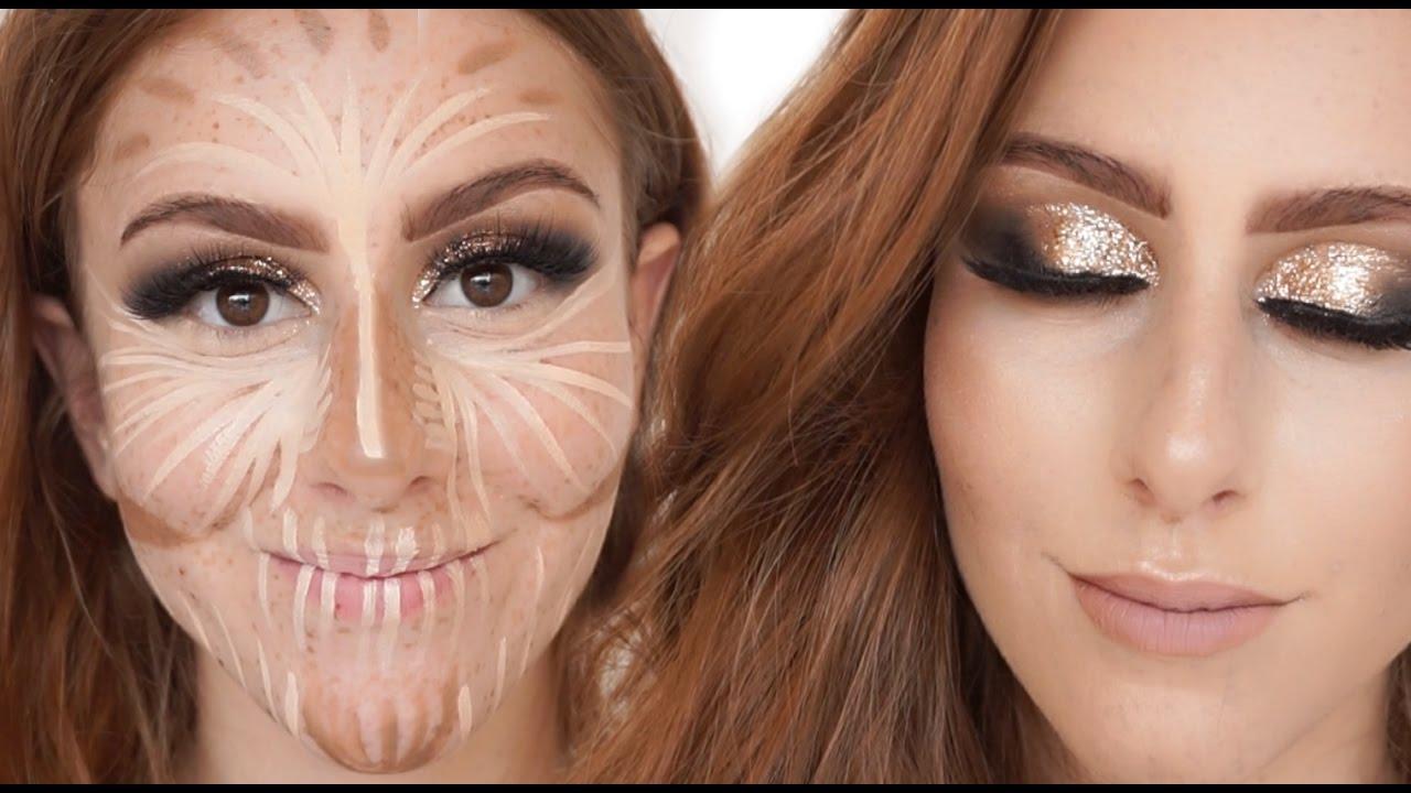 Populares Minha maquiagem mais F#d@ de todas! - YouTube DO02