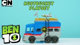 Ben 10 | Assembly Required: Rustbucket Toy Set! | Cartoon Network