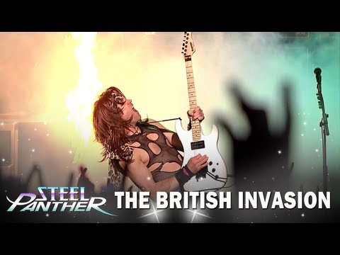 "Steel Panther - ""The British Invasion"" Official Trailer"