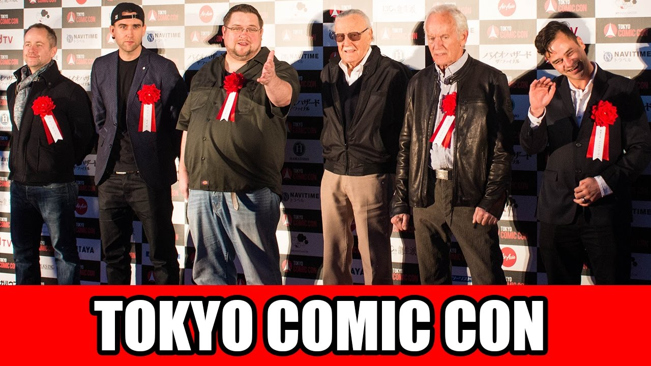 Stan Lee's Opening Ceremony at Tokyo Comic Con 2016!