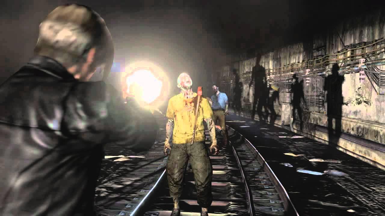 Resident Evil 6 Gameplay Trailer Leon And Helen Youtube