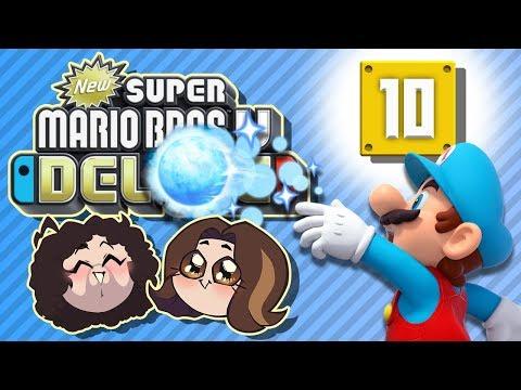 Super Mario Bros U Deluxe: So Much Ice - PART 10 - Game Grumps