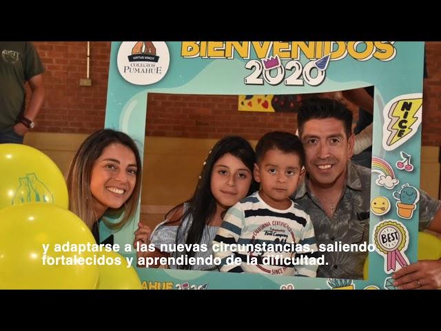 Saludo en el Día de la Familia Colegio Pumahue Temuco