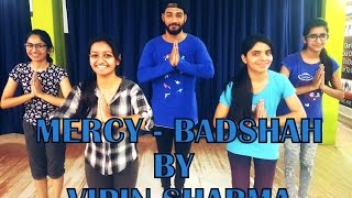 Mercy | Badshah | Hip Hop Dance Choreography by Unique Dance Crew | Vipin Sharma 's Choreography
