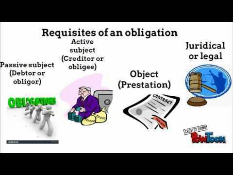 Law on obligation and contract
