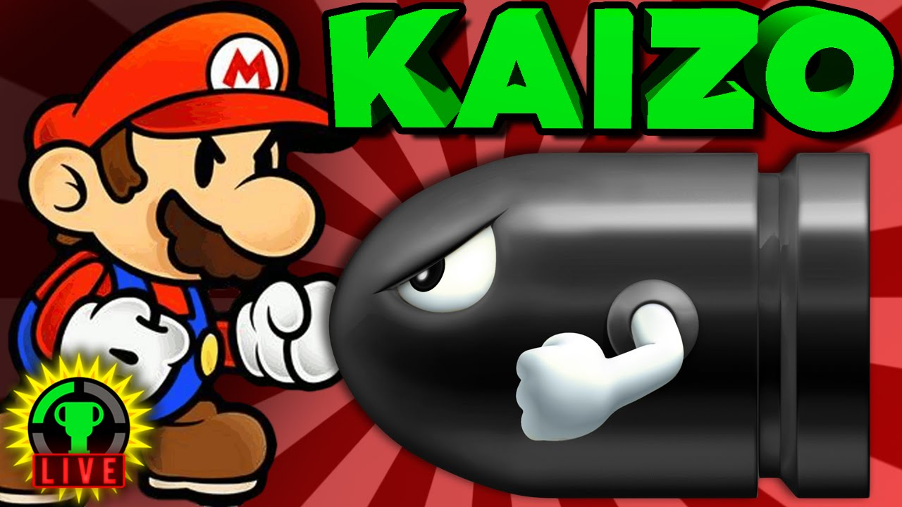 GTLive: Kaizo Mario - GAME OVER! - GTLive: Kaizo Mario - GAME OVER!