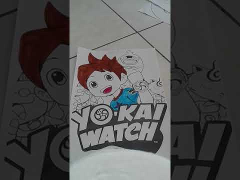 Yo Kai Watch Coloring Tagged Videos On Videoholder