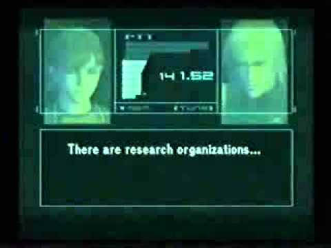 MGS2 discusses Internet Censorship and the New World Order