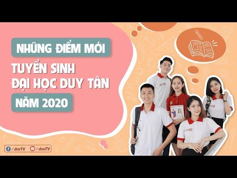 [dtuTV] Những điểm mới của TUYỂN SINH ĐH Duy Tân năm 2020