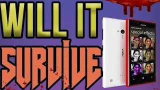 Lets destroy a phone (nokia lumia 720 is it good) redpandahd  how to destroy a phone Nokia lumia