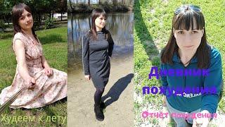 Дневник похудения Мотивация для похудения Отчёт за 2 месяца Тренировка
