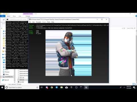 How to datamine fortnite, working 2018! - Fortnite Datamining Tutorial! (New skins, gliders, etc)