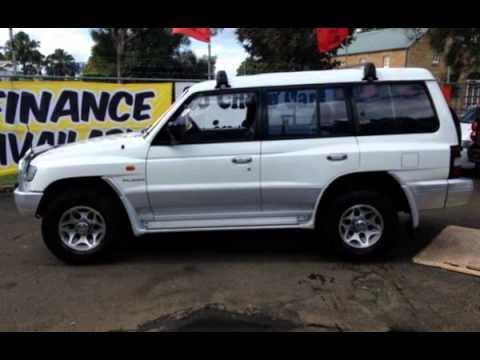 1998 mitsubishi pajero gls white automatic wagon - Mitsubishi Montero 1998