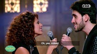 شاهد .. هنا غنيم وماجد مكاوي في دويتو «you're The One That I Want 175» .. فيديو