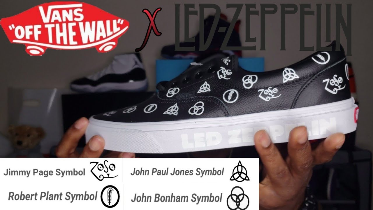 vans led zeppelin