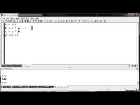 Programlar, Veri Türleri ve Değişkenlere Giriş (Bilgisayar Proglamlama / Python Dilinde Programlama)