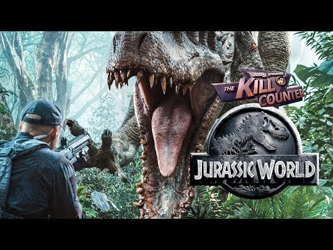 JURASSIC WORLD - The Kill Counter (2015) Chris Pratt, Bryce Dallas Howard dinosaur adventure movie